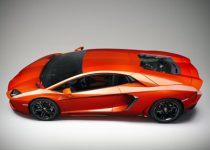 Fondo de escritorio de un Lamborghini Aventador
