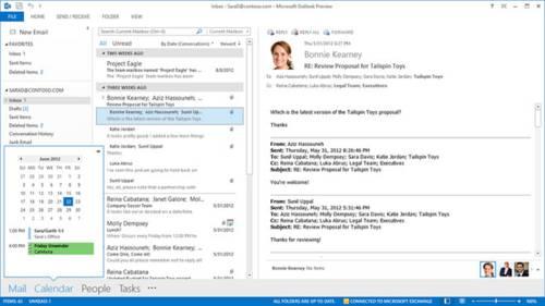 Microsoft Outlook 2013: Conoce un Outlook más bonito y más funcional