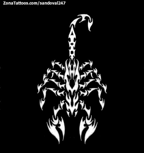 escorpion tatuaje