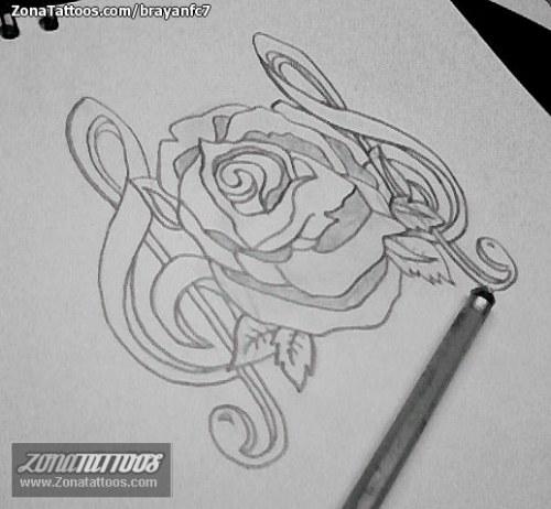 flor y musica