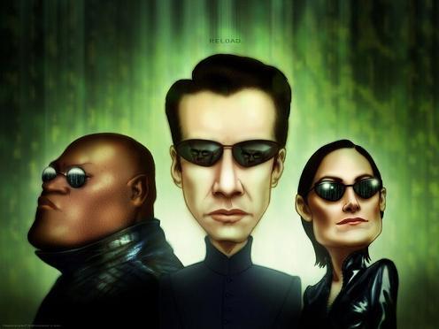 Un divertido Cartoon Matrix para tu pc