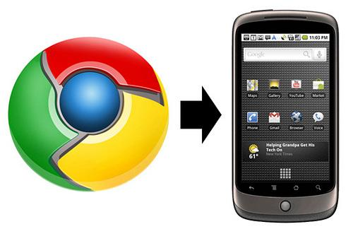 Chrome to Phone: Aplicación de google para tu Phone