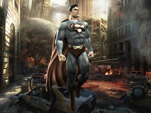 Superman en tu escritorio