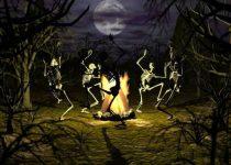 Gracioso fondo de pantalla de Danza de Muertos