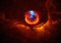 Fondo de Firefox Universo de alta calidad