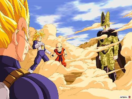 Fondo de la Lucha Dragon Ball Z