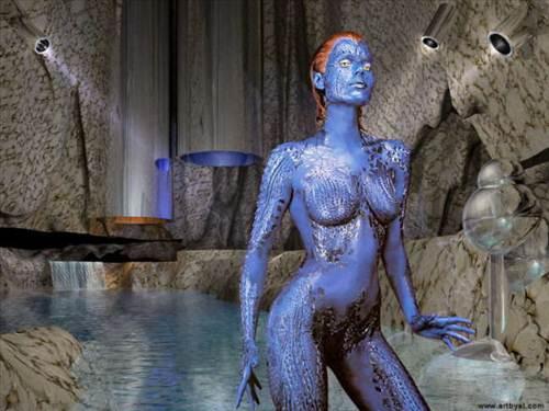 Descarga los fondos mas sexys de Mistic de los X-Men
