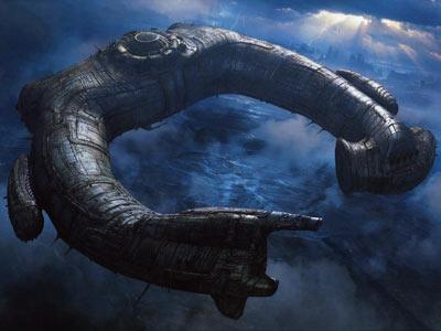 Prometheus Wallpapers: Sorprendente nave espacial como fondo