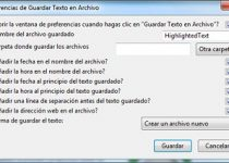 Save Text to File: Guarda texto de una web directamente en un archivo