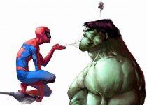 Spiderman y Hulk en tu escritorio