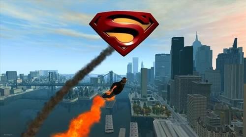 SuperMan Mod para GTA IV: Conviértete en el superhéroe legendario
