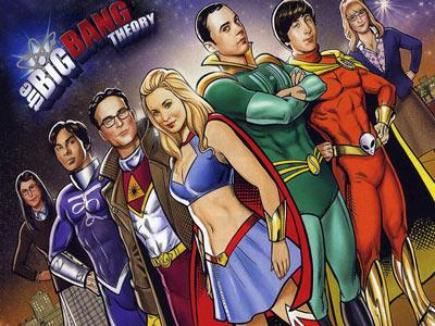 The Big Bang Theory Wallpapers: Fondo de la serie en caricaturas