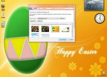 Windows 7 Easter Theme: Un tema bonito de Pascua para Windows 7