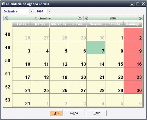 agenda carluis