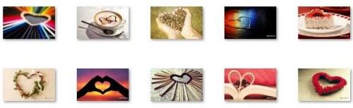 corazones artisticos