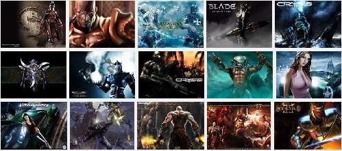 Cientos de fondos de los mejores juegos del momento