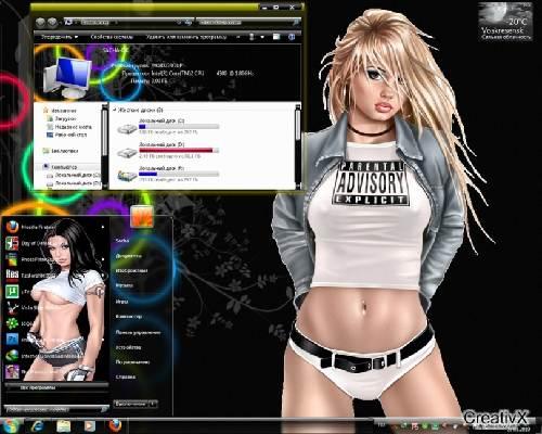 Wallpaper para windows 7 de chicas sexys