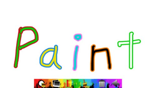 paint apple