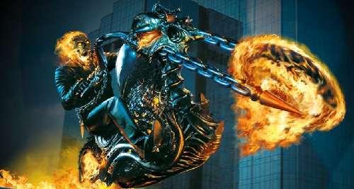 Sorprendente fondo del Vengador Fantasma en 3D