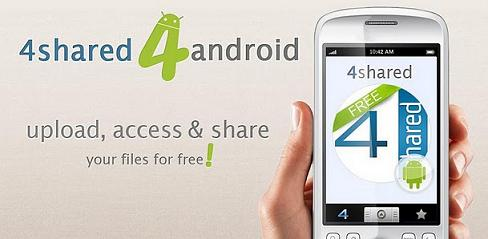 4shared Móvil: Acceder desde tu móvil Android a tu cuenta de 4Shared