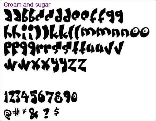 Artistic Font Collection: Cientos fonts gratis