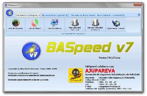 BASpeed: Siete herramientas de las mejores para optimizar tu conexión a Internet