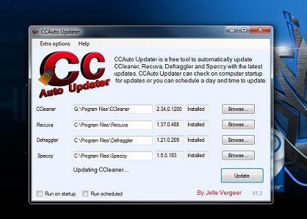 CCleaner Auto Updater: CCleaner actualizado diariamente de manera automática