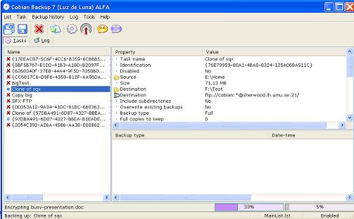 Cobian Backup: Gestor impresionante de copias de seguridad