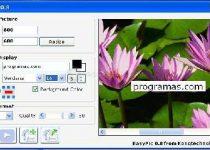 EasyPic: Modifica al instante el tamaño de tus imágenes