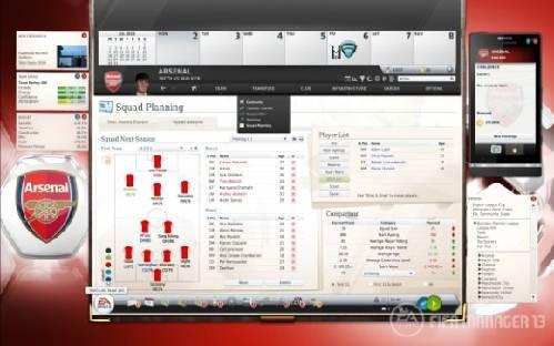 FIFA Manager 13: Gestiona y arma todos los aspectos de un club de fútbol