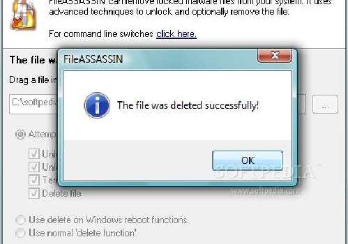 FileASSASSIN: Borra los archivos que se resisten para desaparecer
