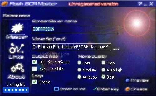 Flash SCR Master: Creación de salvapantallas en Flash
