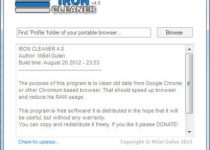IronCleaner: Haz que Google Chrome vaya más rápido