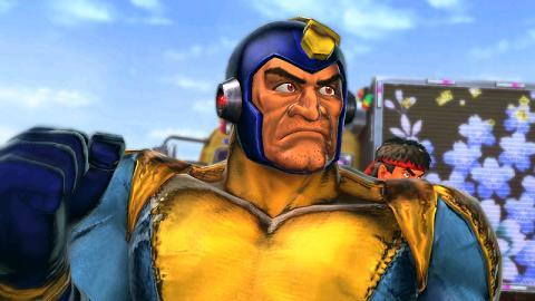 Mega Man contra los luchadores de Street Fighter