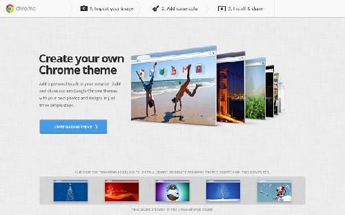 My Chrome Theme: Es tiempo de crear tus propios temas para Google Chrome