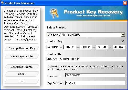 Office Key: Recupera contraseñas perdidas de MS Office