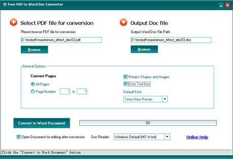 PDF to Word Free: La manera más fácil de convitir tus PDF en TXT o DOC