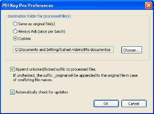 PDFKey: Desprotege documentos en PDF protegidos