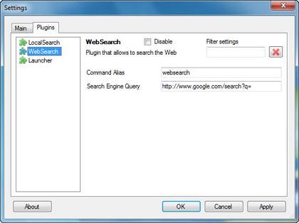 Pipy: Sencillo buscador y lanzador de aplicaciones