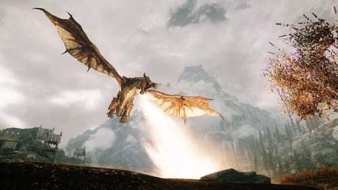 Skyrim Dragon Combat Overhaul Mod: Dragones más inteligentes y fieros a combatir en Skyrim