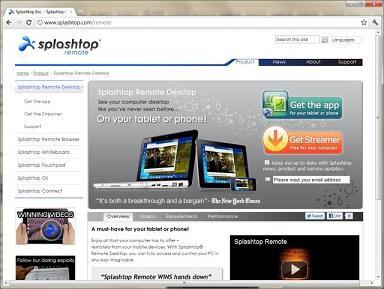 Splashtop Streamer: Tu PC está listo para que lo controles con el móvil