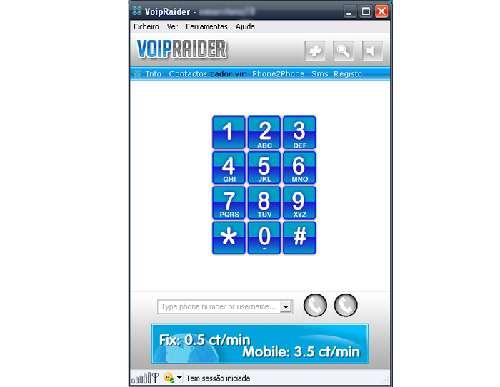 VoipRaider: Llama locales gratis y manda mensajes ininterrumpidos