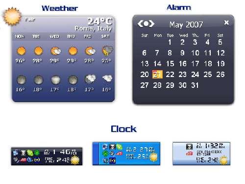 Weather Clock:Mantente al día del tiempo y las previsiones meteorológicas
