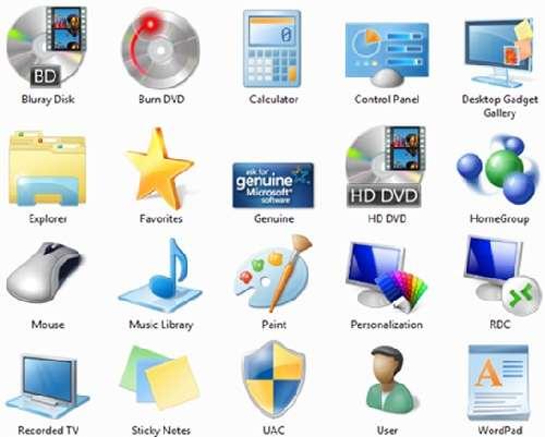 Windows 7 Icon folder Package: Descarga iconos gratis de carpetas al estilo Windows 7