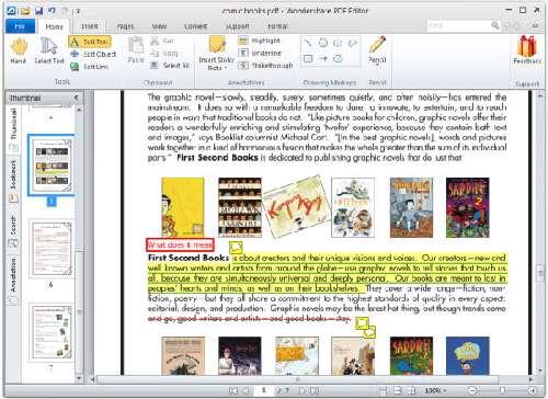 Wondershare PDF Editor: Edita documentos de PDF como si fuera el mismo Word