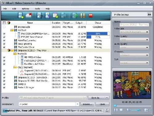 Xilisoft Video Converter Ultimate: Un conversor de videos muy buenazo