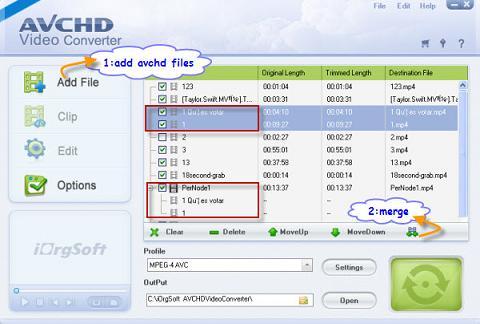 iOrgSoft AVCHD Converter: Convertidor completo vídeos AVCHD para DVD o verlos en el móvil