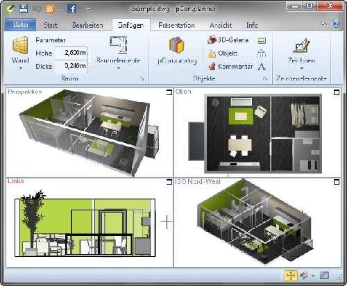 pCon.planner: Diseña tu propia casa u oficina en 3D