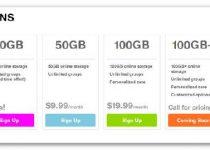 CX: 10 GB para copias de seguridad online