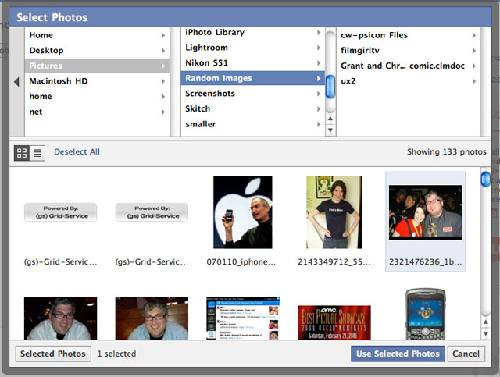 Facebook Photo Uploader: Arrastra tus fotos del escritorio hasta tu Facebook